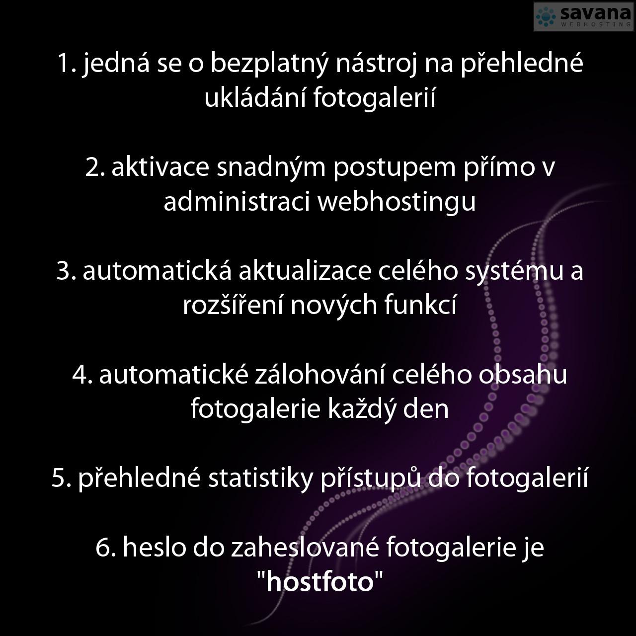 Představení fotoalba Hostfoto.cz